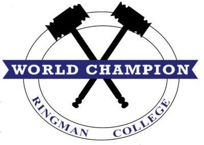 World. Champion Ringman College www.championringman.com